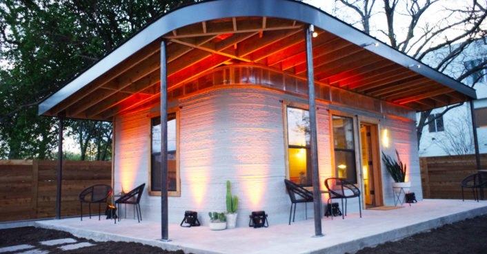 3d printed house ein haus f r 4000 dollar erstellt in weniger als einem tag per 3d drucker. Black Bedroom Furniture Sets. Home Design Ideas