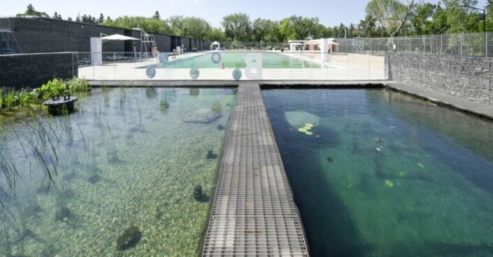 Borden Park Natural Swimming Pool - first chemical free ...